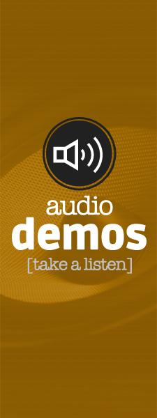 radio and voice over audio demos